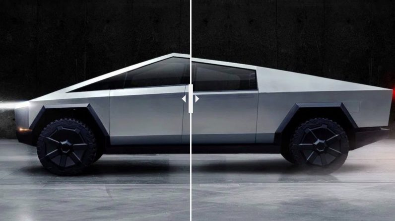 Tesla releases updated Cybertruck electric pickup design 'within a month or so'