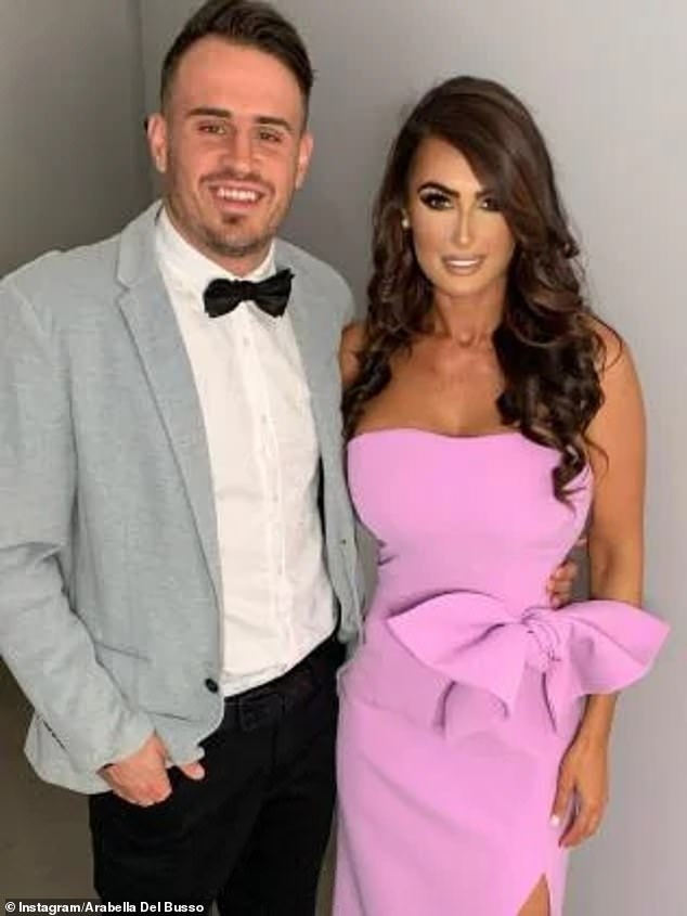 Flashback: During the trial, Arabella spoke about her bad relationship with rugby league footballer Josh (left) and the 'research' he has faced since they split late last year.