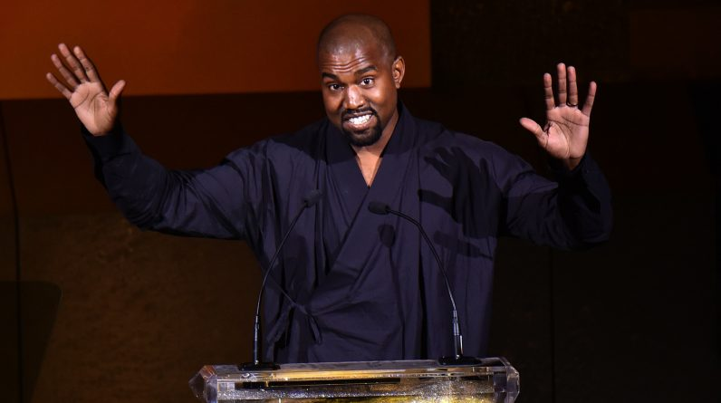 Kanye West votes for himself by first ballot: NPR
