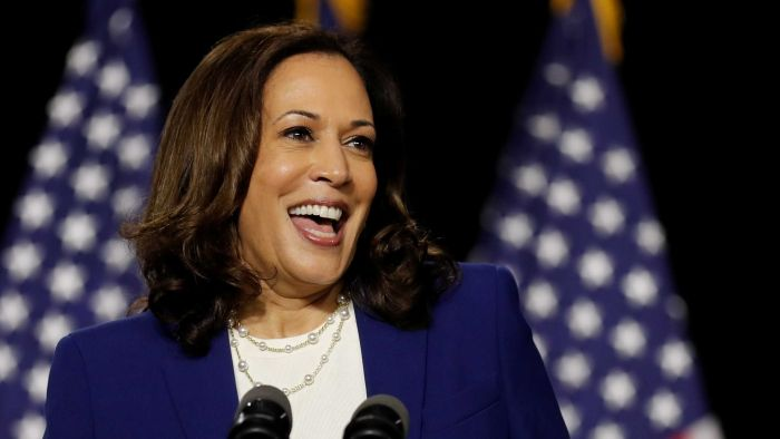 Kamala Harris is the first woman Vice President of the United States
