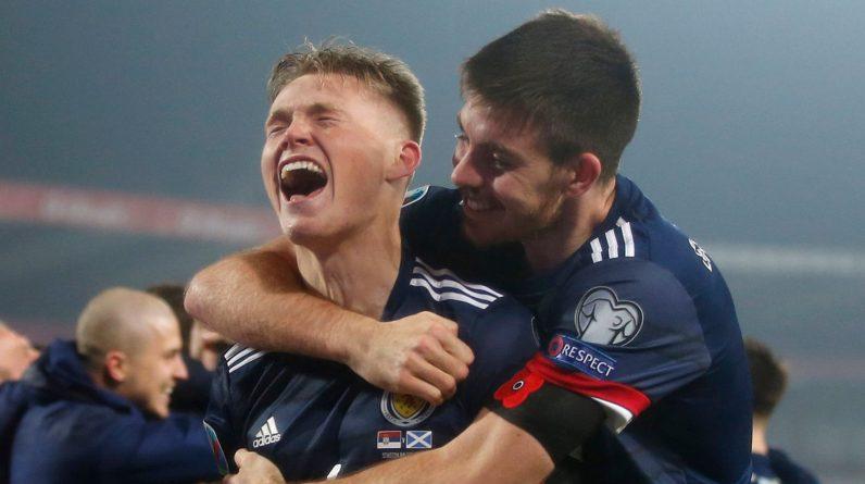 Fudbal Soccer UEFA EURO 2020 Qualifiers- Playoff-Srbija v Scotland.Beograd, 12.11..2019..foto: Srdjan Stevanovic/Starsportphoto ..
