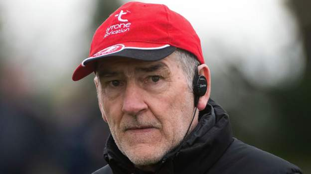 Mickey Harde ended 18 years as Tyrone manager