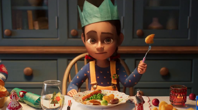 Viewers discover 'brutal' hidden swipe at Aldi in the Little Christmas ad