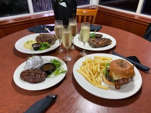 Burgers and steaks at the last Sisler in Sydney