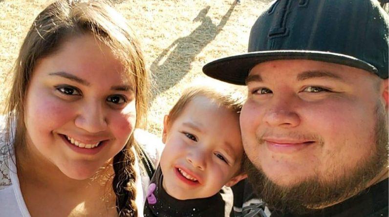 Raiden Gonzalez and his parents. Pic: Rozie Salinas