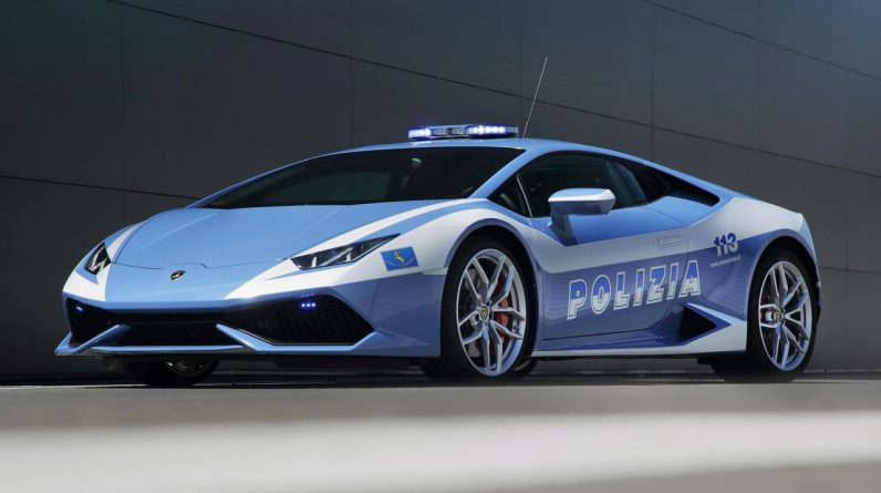 Lamborghini saves lives with Hurricane police car speed