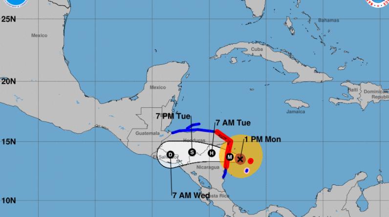 Hurricane Iota is expected to wreak havoc in Central America: NPR