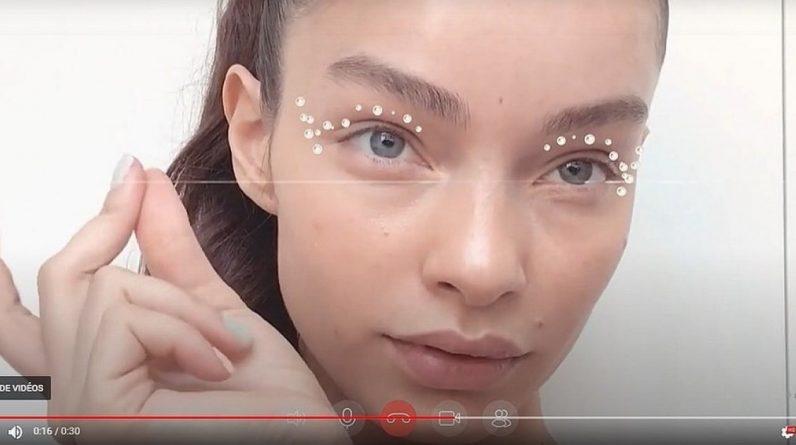 Virtual makeup brightens video calls (video) |  Life