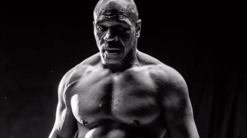 Mike Tyson is completely ahead of his boxing match against Roy Jones Jr. (Big)