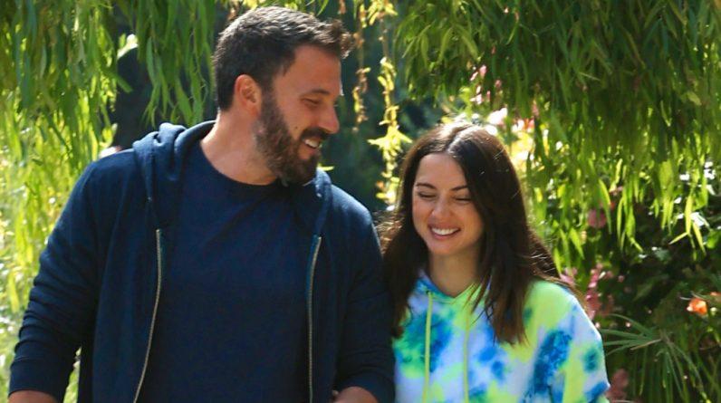 Ben Affleck and Ana de Armas seen with an engagement ring - Sheknovs