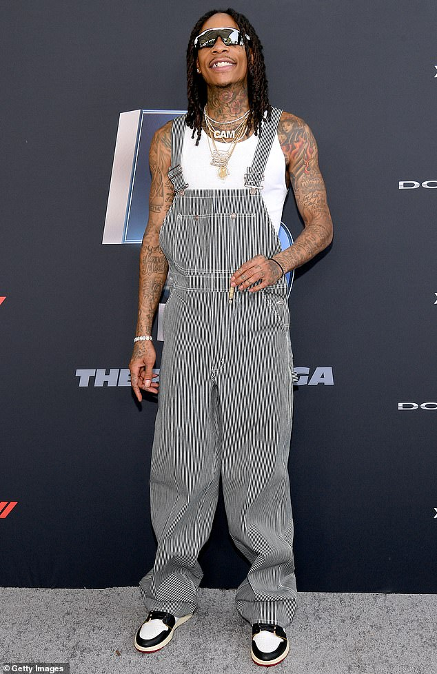Social Media Conflict: Wiz Khalifa recently clapped with receipts after he tried to provoke her on Grammy Snaps against hip hop rival Nicki Minaj (pictured in January, 2020)