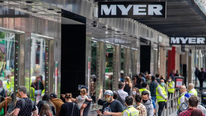 Myr expects record sales online.