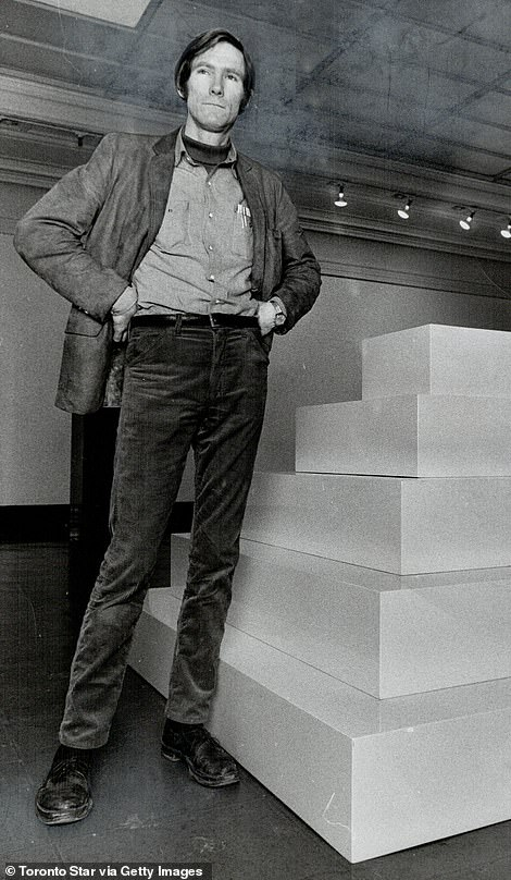 Some observers have pointed to the resemblance of material to the avant-garde work of John McRaque (pictured), an American artist who lived for a time in nearby New Mexico and died in 2011.