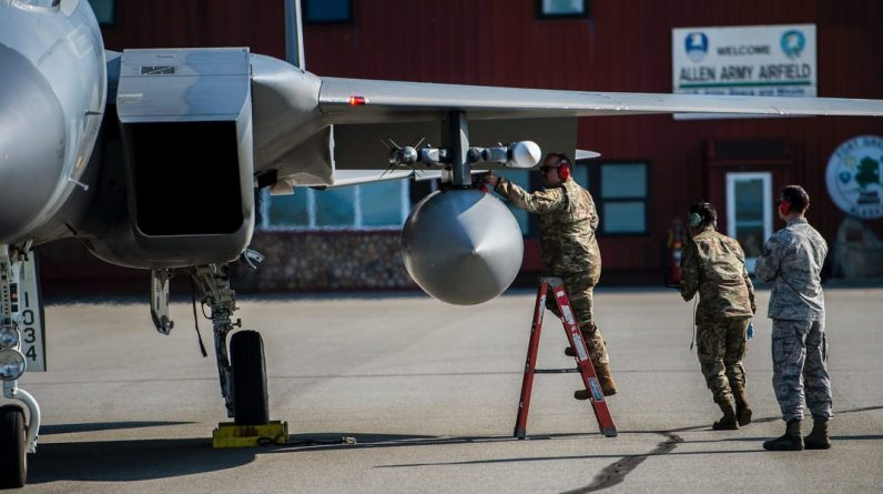 Air Force studying new, tougher bases to fight in the Pacific