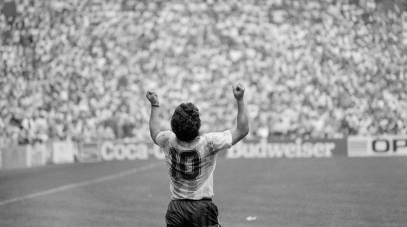 Remember Maradona, Latin American Patron Saint of the Pitch: The Picture Show: NPR