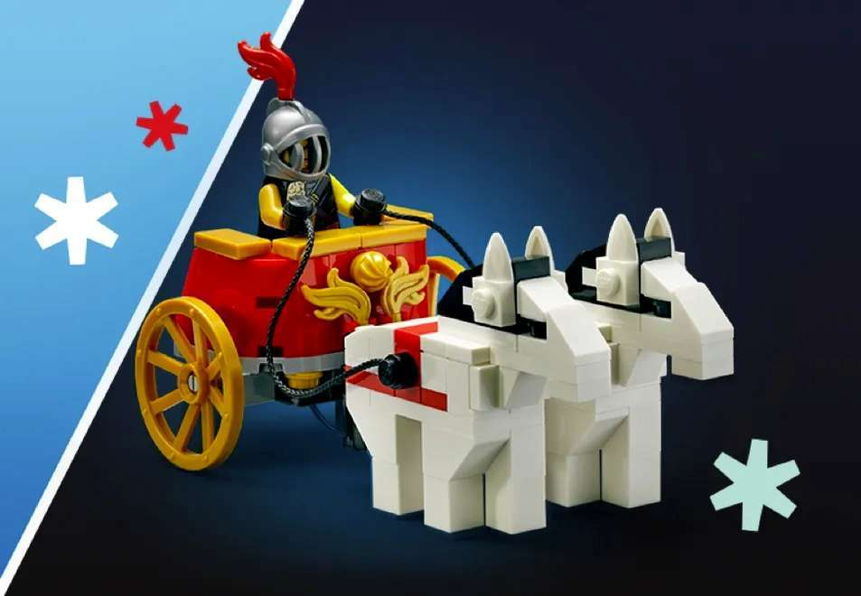 Lego-chariot