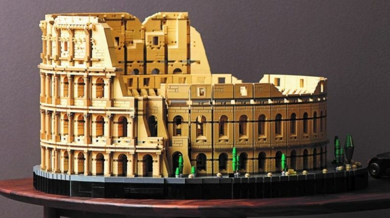 Lego's Massive Rome Colosseum 9036-Piece Set is now available