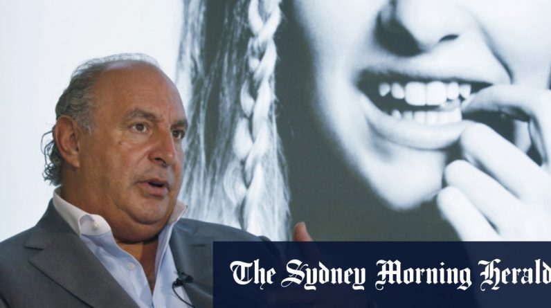 Topshop of UK billionaire Sir Philip Green Dieters is on the verge of retail empire