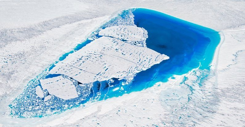 As Greenland melts, we underestimate its impact on a new model