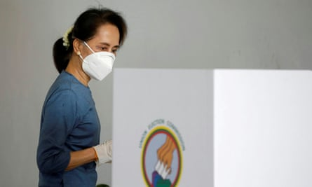 Aung San Suu Kyi is coming to the polls in Nairobi ahead of the election