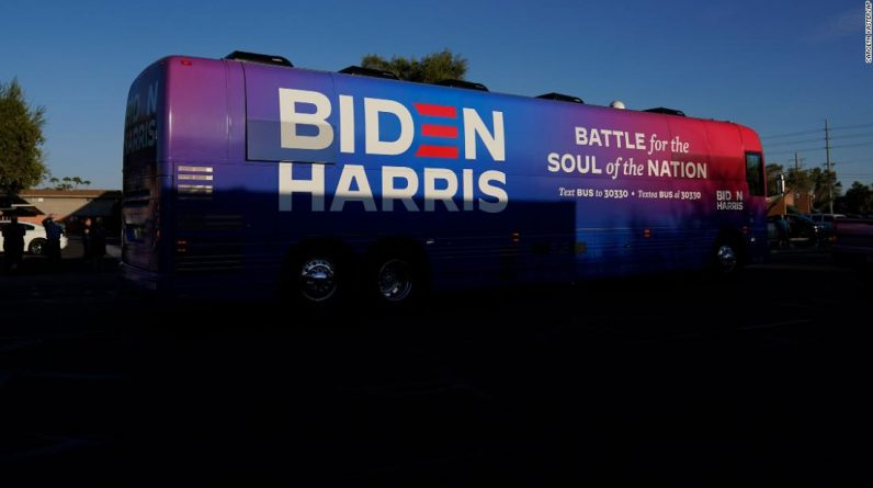 Biden campaign cancels Texas event after Trump supporters rounded up bus inside states