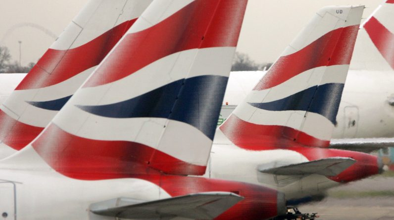 <p>British Airways' tweet on Saturday morning sparked anger among Welsh rugby fans</p>