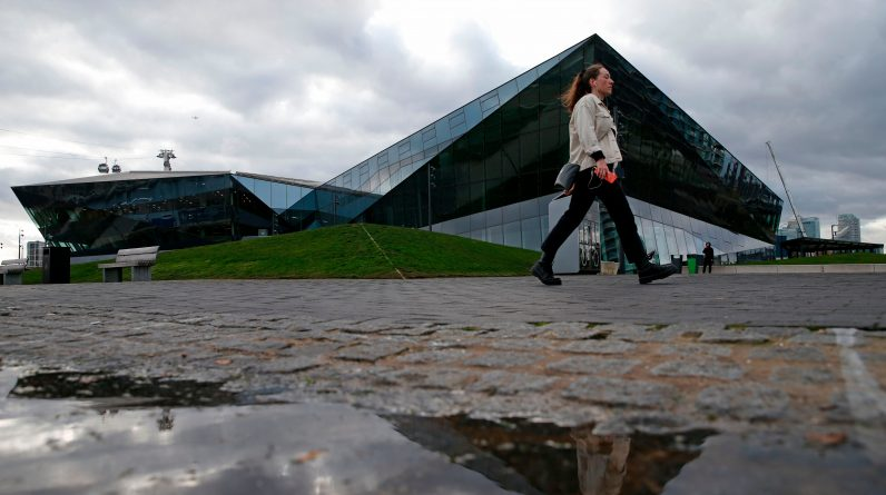 <p>The Crystal in Royal Docks where Sadiq Khan wants to relocate City Hall</p>
