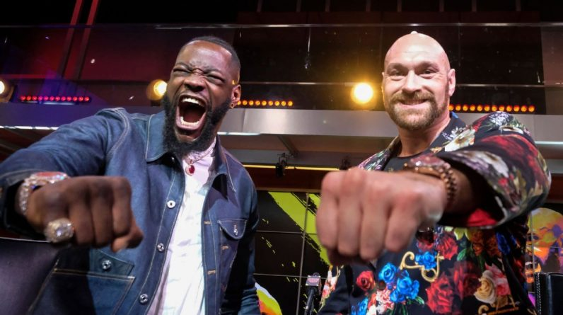 Dionde Wilder to Tyson Fury
