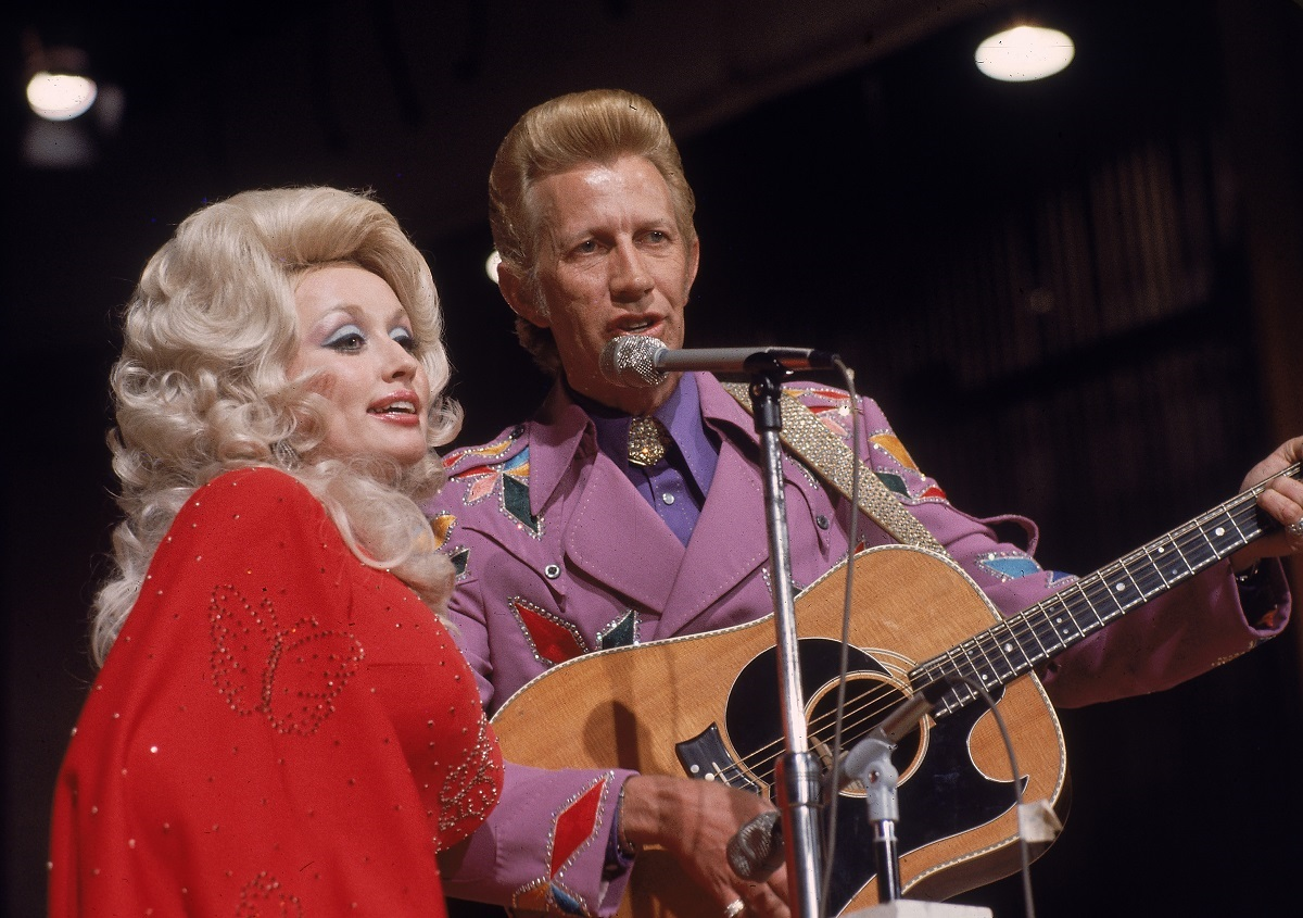 Dolly Barton and Porter Wagner