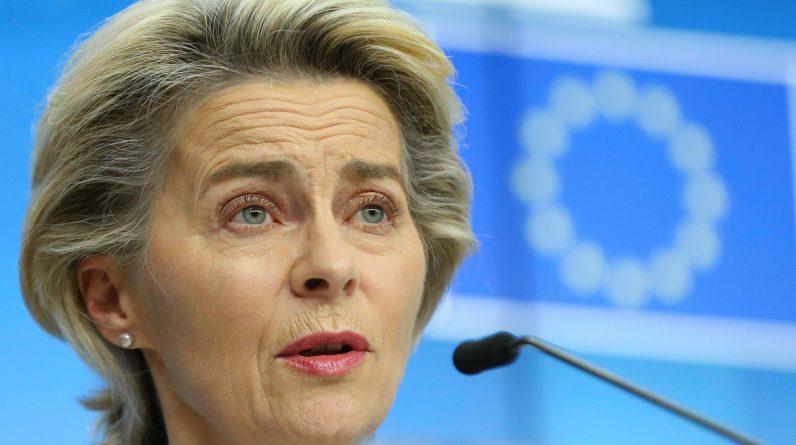 EU van der Leyen urges gradual increase in corona virus locks