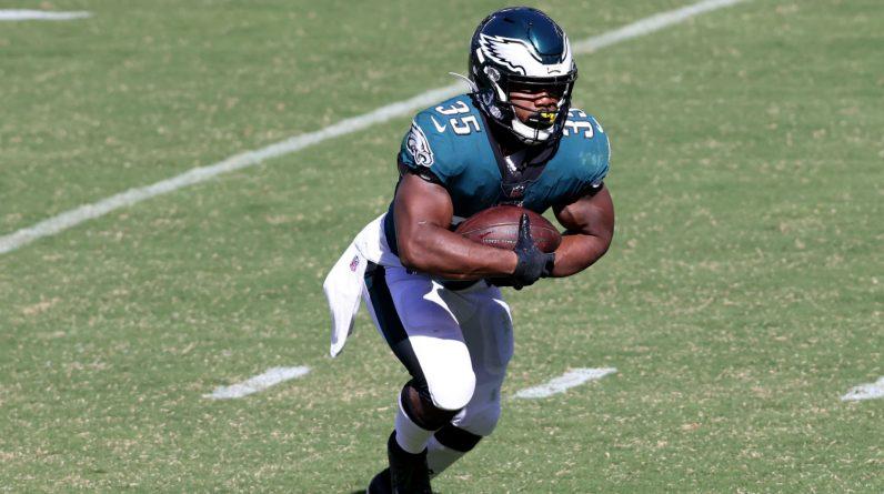 Eagles' Boston Scott runs back to shine for Philadelphia in the latest short NFL