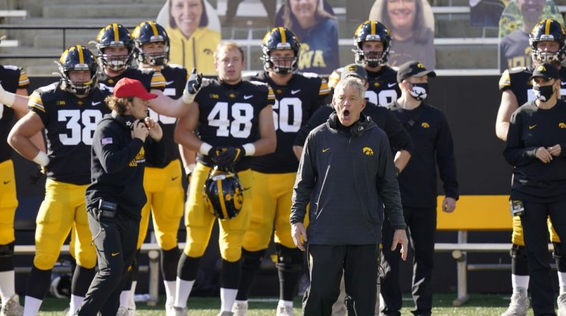 Former Iowa footballers allege racial discrimination in the case