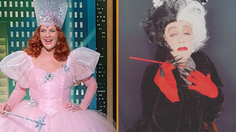 From Drew Barrymore to Glenn Close, Hollywood's Best Halloween Costumes 2020