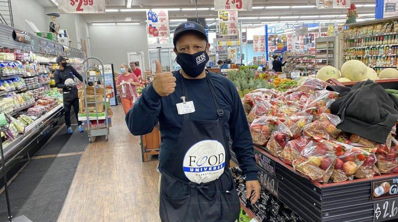 Grocery store employees fear they will get sick as cases of corona virus continue to rise