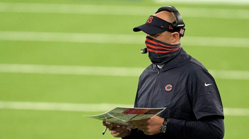 HC bears Matt Nagy to hand over the call-up duties of the attacking game to OC Bill Lazarus