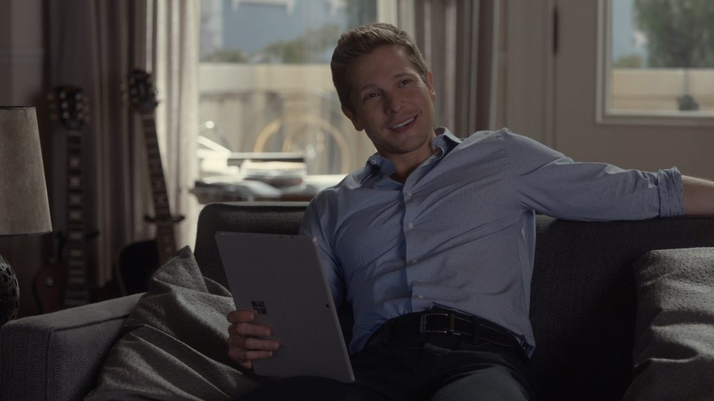 Matt Zuchry as Logan Huntsberger in 'Gilmore Girls: A Year in the Life'