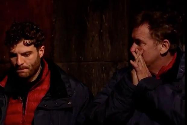 Jordan North and Shane Richie Pushkar test on I Am A Celebrity