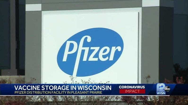 Kenosha County is home to one of the U.S. distribution sites for the Pfizer corona virus vaccine