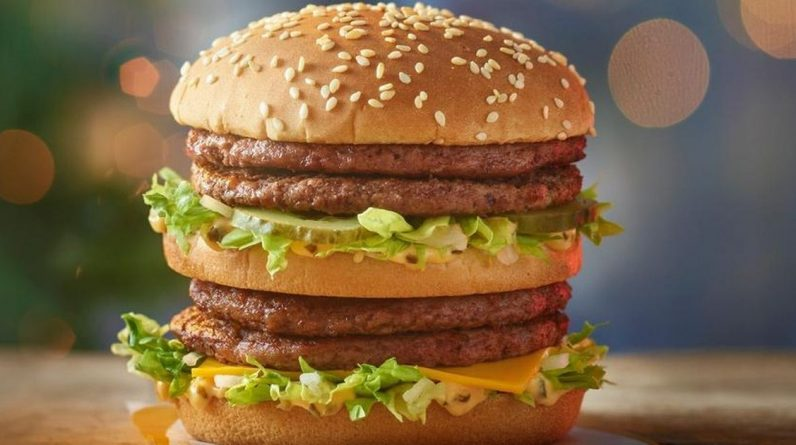 McDonald's fans say 'uncomfortable' new burger on Christmas menu
