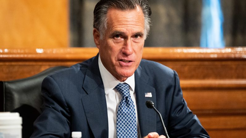 Mitt Romney says Trump's wrong 'in calling elections' corrupt' and his words' detrimental to freedom '