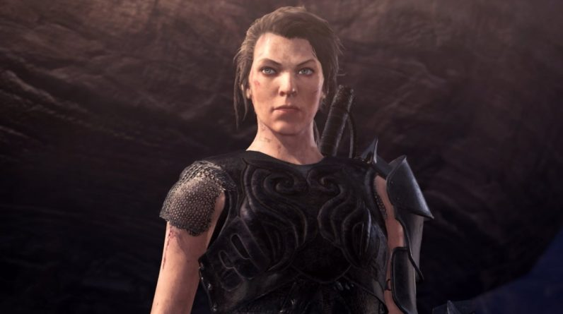 Monster Hunter star Milla Jovovich is coming to the world of Monster Hunter: Ice