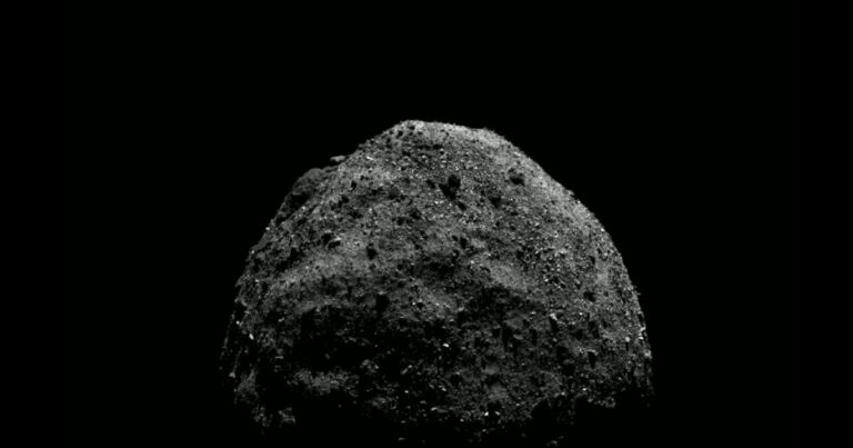 NASA data appears to show that the giant asteroid is empty