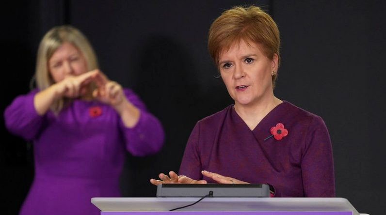 Nicola Sturgeon Corona virus updates LIVE: 64 deaths as Scotland records highest daily number since May