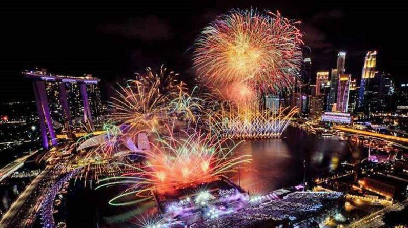 No crackers at Marina Bay on New Year's Day amid the COVID-19 epidemic