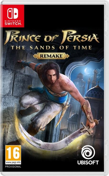 Prince of Persia: Sands of Time Remake Switch Listings Nintendo Switch Prince of Persian Remake Ubisoft's Greek Greece