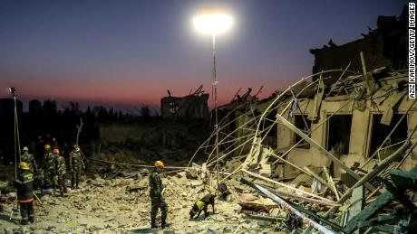 Azerbaijan and Armenia agree to a ceasefire