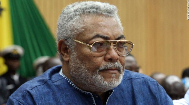 The daughter of former Ghanaian President Jerry Rawlings warns of social media fraud around her funeral
