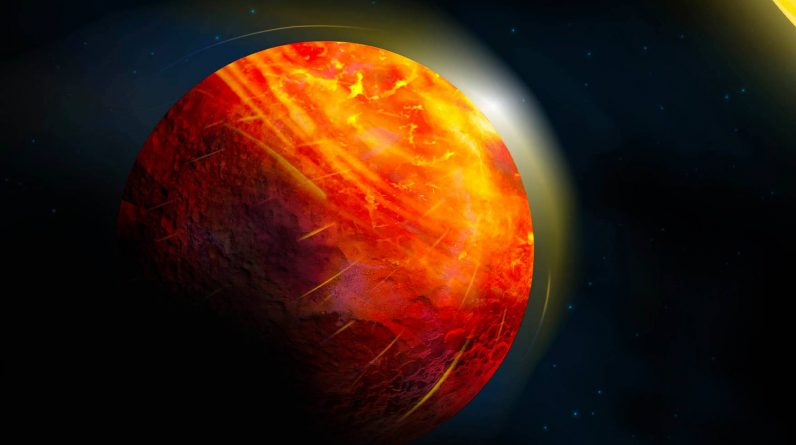 Hellscape lava planet rains rocks, suffers from supersonic winds