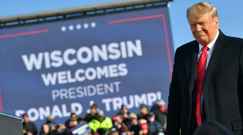 Trump pays m 3 million for Wisconsin review, increases Biden's victory margin