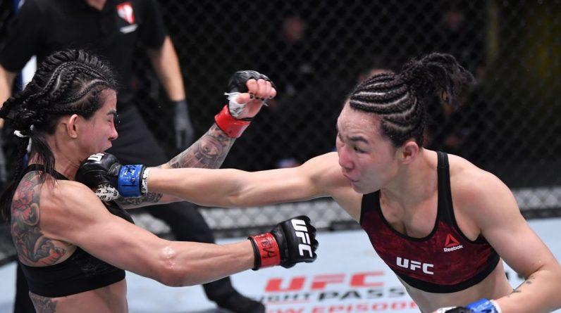 UFC Vegas 13 Results: Jan Zion shows fast hands, beats Claudia Cadelha